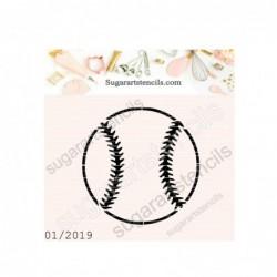 Baseball ball cookie...