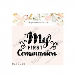 First communion cookie...