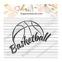 Basketball word sport ball...