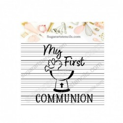 First Holy communion cookie...