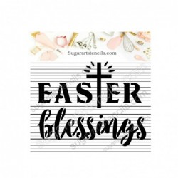 Easter blessings cookie...