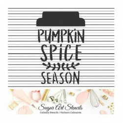 Pumpkin spice fall words...