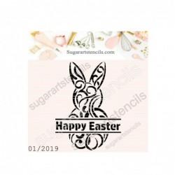 Happy Easter bunny cookie...