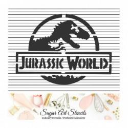 Dinosaur cookie stencil...