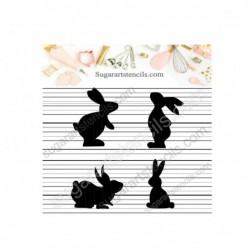 Easter bunnies cookie...