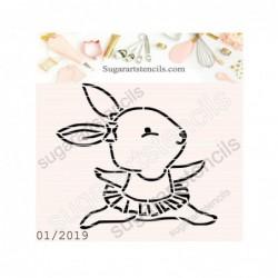 Dancing bunny ballerina PYO...