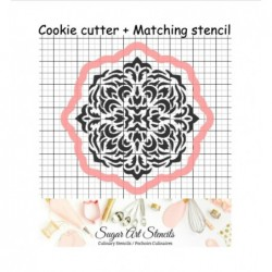 Doily Medallion cookie...