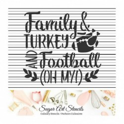Family turkey football...