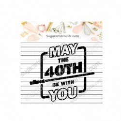 May the 40th be with you...