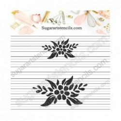 Decorative floral elements...