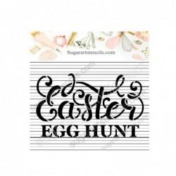Easter egg hunt cookie...