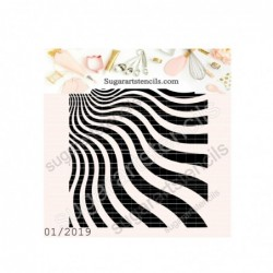 Burst stripes background...