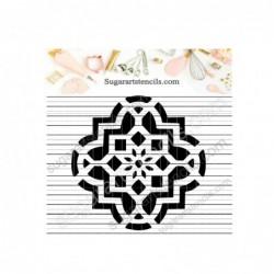 Arabesque mosaic Moroccan...