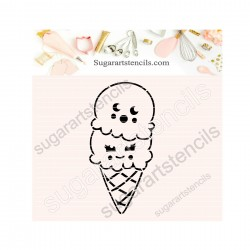 Summer ice cream PYO cookie...