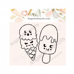 Summer ice cream friends...