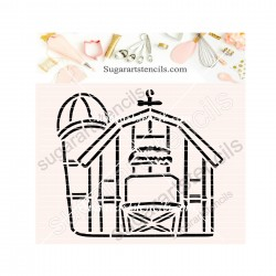 Farm PYO cookie Stencil SA0014