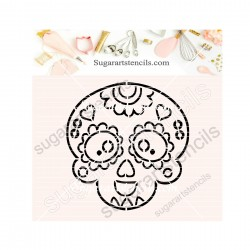 Sugar skull PYO cookie...