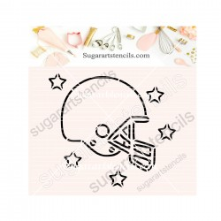 American Football helmet...