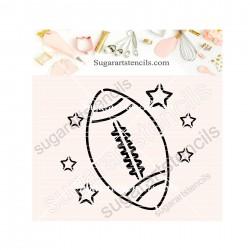 American Football ball PYO...
