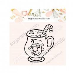 Christmas snowman mug PYO...