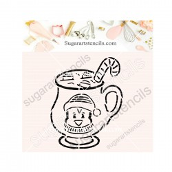 Christmas penguin mug PYO...