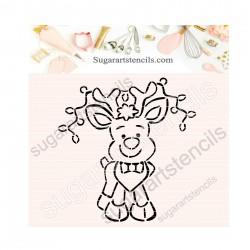 Christmas deer Rudolph PYO...