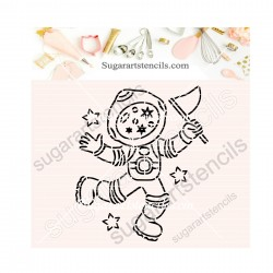 Astronaut PYO cookie...
