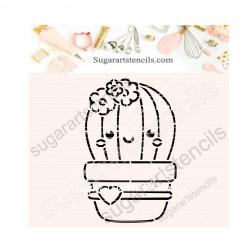 Cactus PYO cookie Stencil...