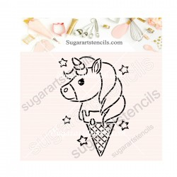 Unicorn ice cream PYO...
