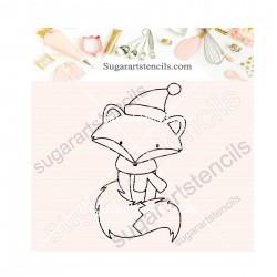 Christmas little fox PYO...