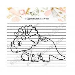 Dinosaur triceratops PYO...