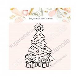 Christmas tree PYO cookie...