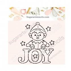 Christmas joy word PYO...