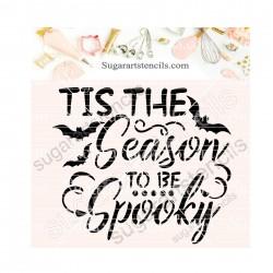 Halloween cookie stencil...