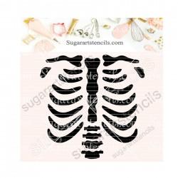 Halloween skeleton torso...