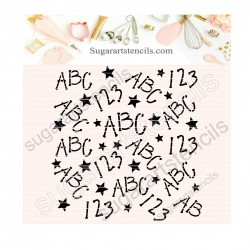 School alphabet numbers...