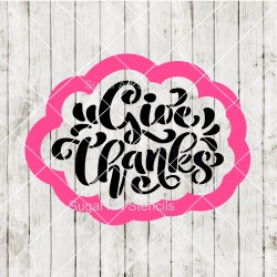 Thanksgiving words Give...
