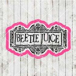 Beetle juice cookie cutter...