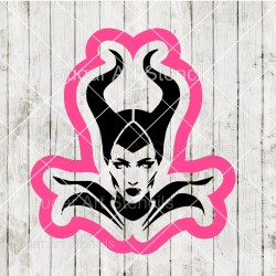 Maleficent cookie cutter...