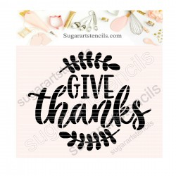 Thankgiving words give...