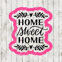 Home sweet home cookie...