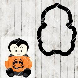 Halloween vampire pumpkin...