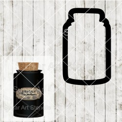 Halloween potion bottle...