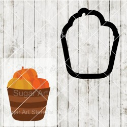 Pumpkins bucket cookie...