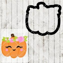 Cute floral Pumpkin cookie...