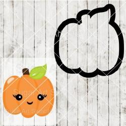 Pumpkin cookie cutter SAJ00132