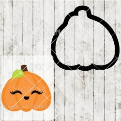 Pumpkin cookie cutter SAJ00133