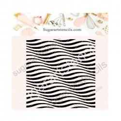 Waving stripes background...