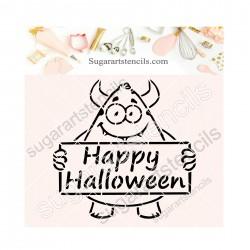 Halloween PYO cookie...