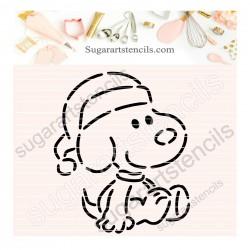 Snoopy Christmas PYO cookie...